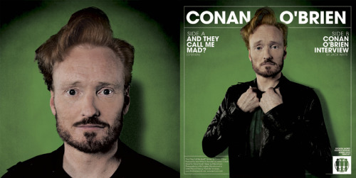 Conan O'Brien to Release Two Albums