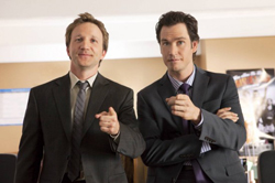 Franklin & Bash Photos Hit the Net