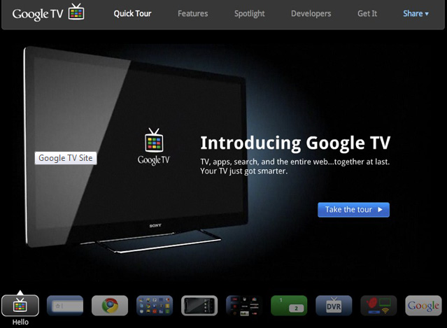 Google Officially Launches Google TV