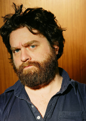 Zach Galifianakis Smokes Weed on Real Time
