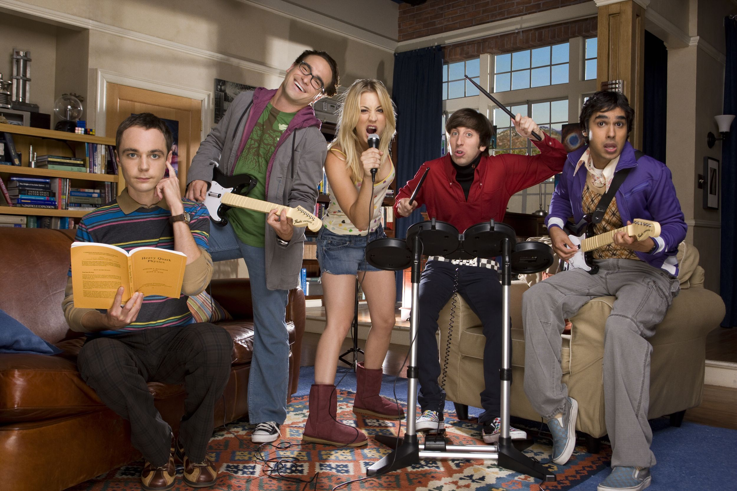 The Big Bang Theory Renewed for 3 Years