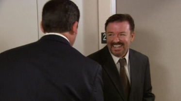 Video of Ricky Gervais on The Office