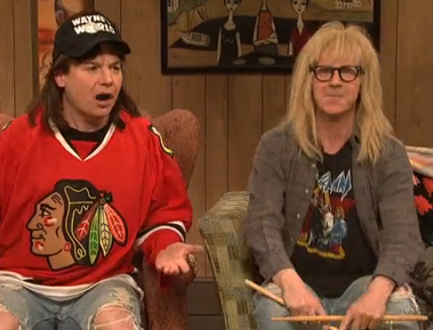 Wayne's World Returns to SNL