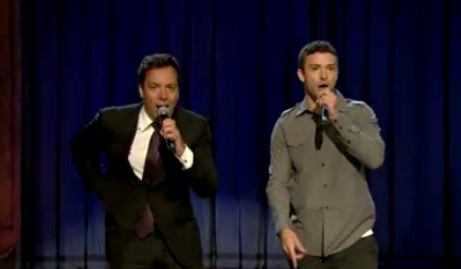 Justin Timberlake and Jimmy Fallon Perform History of Rap Part 2