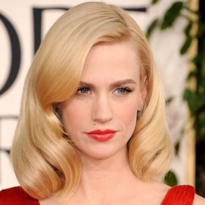 January Jones Isn't Nice According to TV Son