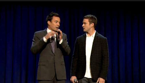 Justin Timberlake and Jimmy Fallon Perform History of Rap, Part 3