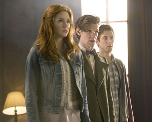 Amy and Rory to Leave Doctor Who in Series 7