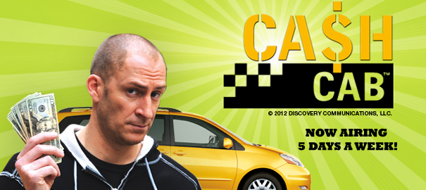 Contest! Win a $50 Visa Card and Cash Cab Board Games!
