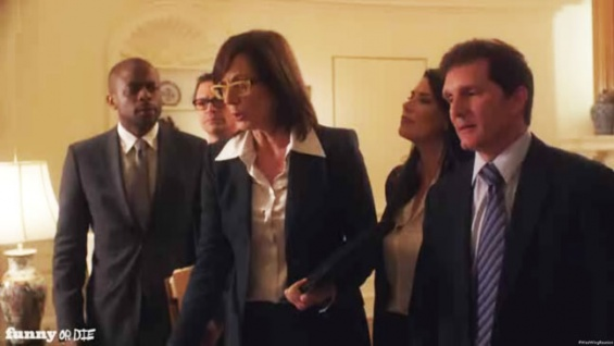 Funny or Die Stages a West Wing Reunion